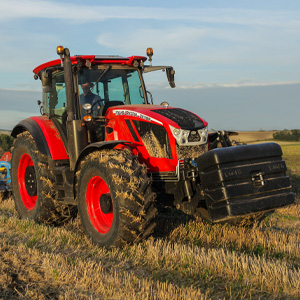 Zetor Crystal HD170 Tractor working on a field